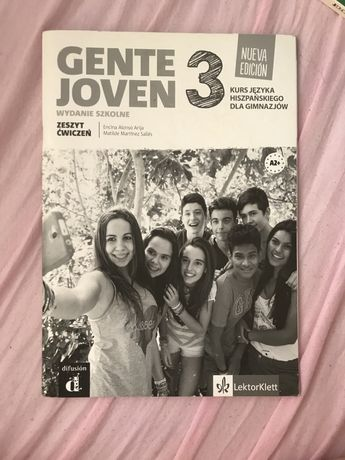 Gente joven 3 kurs jezyka hiszpanskiego