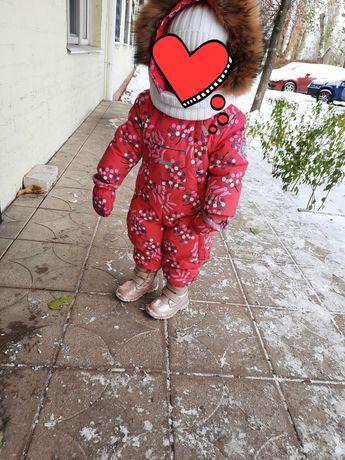 Продам зимний детский комбез