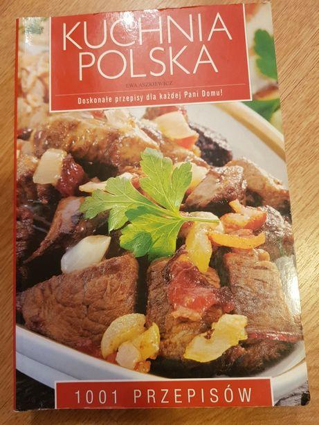 Książka Kuchnia Polska 1001przepisów + łyżka drewniana GRATIS