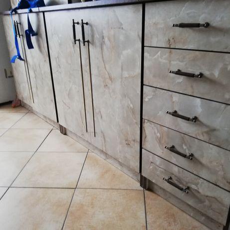 Komplet Mebli kuchennych 280cm Solidnie Dawne Wykonanie