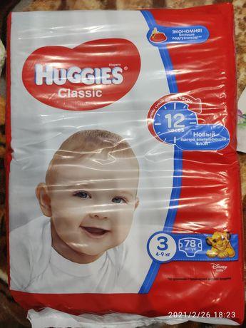 Памперсы huggies classic 3