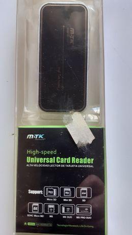 Vendo universal card reader marca mtk c/ cabo