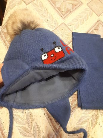 Детская шапочка на 1,5 год