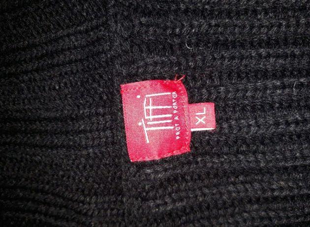 Czarny sweter Toffi rozmiar XL