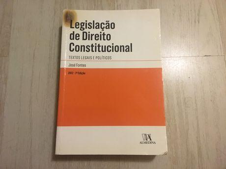 Legislação de Direito Constitucional - José Fontes