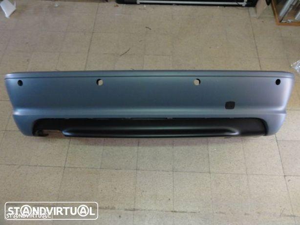 Parachoques traseiro bmw e46 coupe / cabrio pack m abs (plástico) - sensores de estacionamento