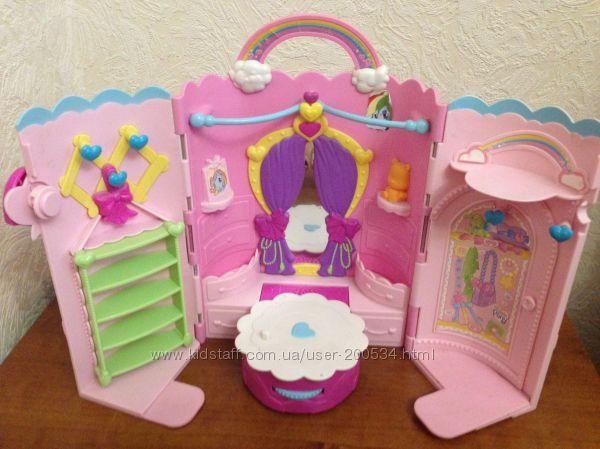 Музыкальный домик My Little Pony. Hasbro, оригинал! 500 руб.