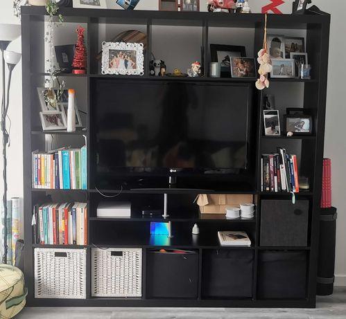 Móvel TV IKEA Kallax 182x182x39