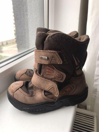Кожаные зимние ботиночки 26