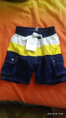 Продам новые шорты Miniclub из Англии на 1-1,5 года, рост 80-86 см