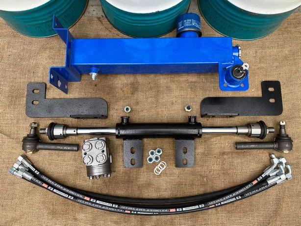 Переоборудование под насос дозатор МТЗ-80 ЮМЗ Т40 с двухсторонним ЦС50