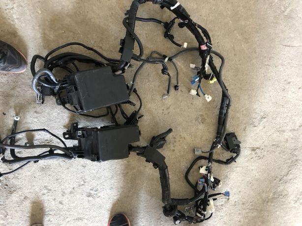 Проводка на Lexus RX 350,450h NX, Панель радиатора, потолок , подрамни