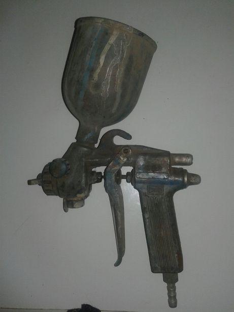 Пневматический краскопульт пульвиризатор пневмо пистолет для покраски