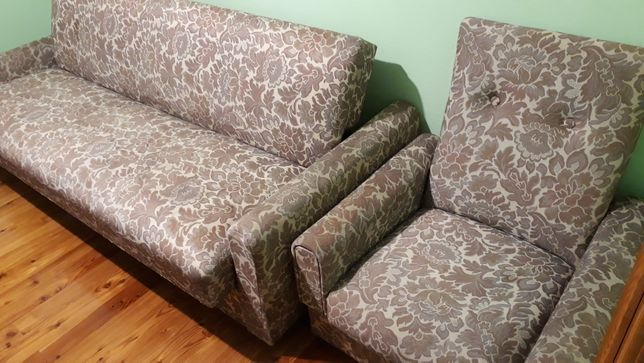 Wersalka + fotel
