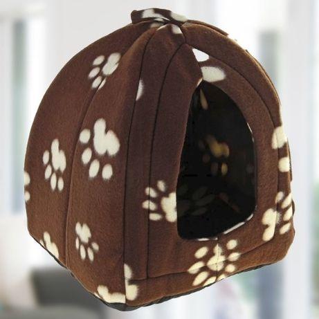 Мягкий домик для собак и кошек Pet Hut Brown 269 грн