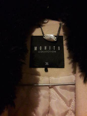 Sprzedam zimowy płaszcz firmy MOHITO rozm. 36