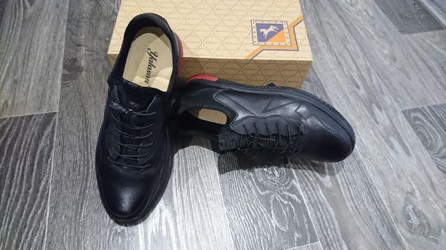 Мужские кожанные кроссовки YALASOU 42 размер