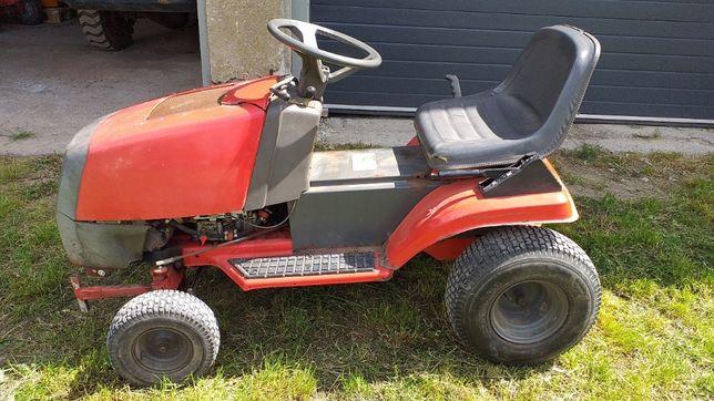 NOWA CENA Traktorek Kosiarka silnik Briggs&Stratton 12H Przyczepka