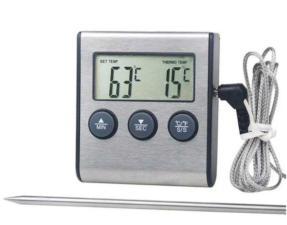 Термометр щуп Digital Cooking Termometr/Timer TP700 цифровой
