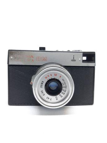 Винтажный фотоапарат СССР Смена 8М с паспортом в коробке. Барахло