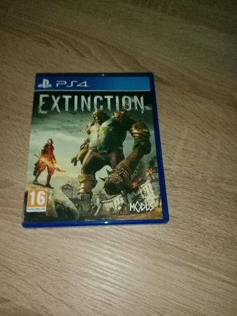 Gra Extinction na PS4 - stan idealny