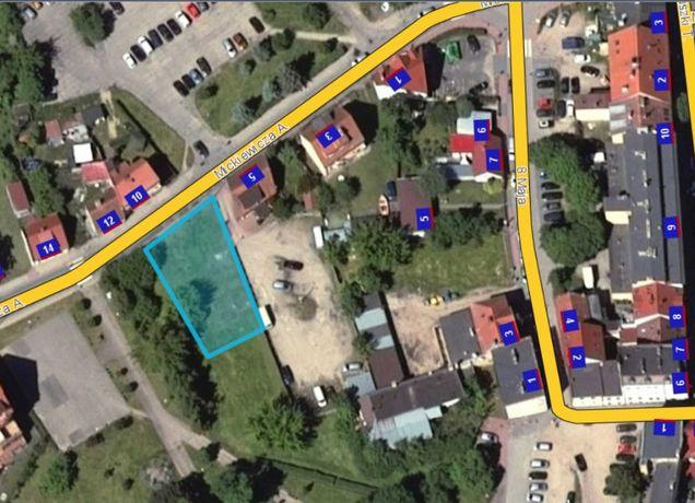 Działka budowlana w centrum Mrągowa / Mazury