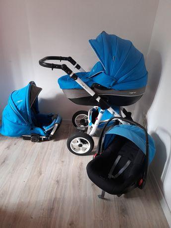 Wózek riko nano 3w1 gondola spacerowka i fotelik nosidełko wysyłka