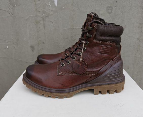 Кожаные демисезонные ботинки Ecco tred tray 42 р. Оригинал