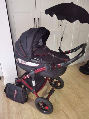 Wózek 3 w 1, Tako Sportime, gondola, spacerówka, fotelik samochodowy