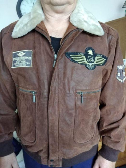 skórzana kurtka pilotka męska Pszczyna - image 1