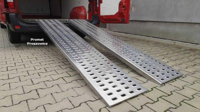 Najazdy 2szt ALUMINIOWE 2m 2,5m 3m Podjazdy 2T LOHR na Skrzynię Busa