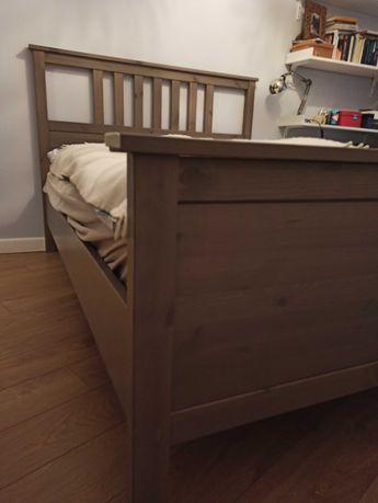 Łóżko drewniane Hemnes Ikea