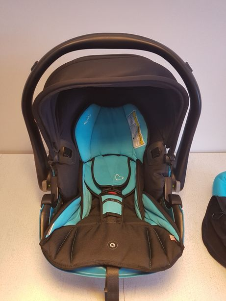 Fotelik Kiddy Evolution Pro, od 0-13 kg do wózka daszek p.słoneczny