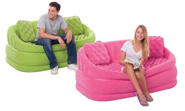 надувной диван с подушками-Акция до 6.08
