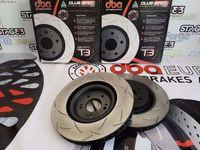 Discos EBC Ultimax Pastilhas VAG 334mm e 312mm VW GOLF 4 R32