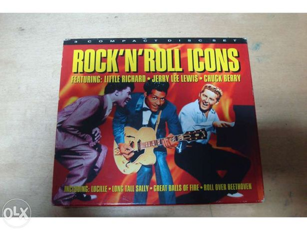Rock`n`roll icons 3 cds