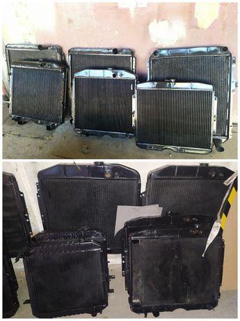 Радиатор двигателя Камаз Маз Газ 52 53 3307 66 Зил 130 131
