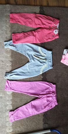Spodnie dziewczynka 98