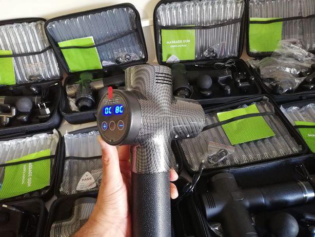 NOVAS* Pistola de massagem/Massage gun de 30 Velocidades! 6 cabeças
