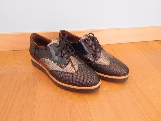 Sapatos Oxford marca Softwaves NOVOS