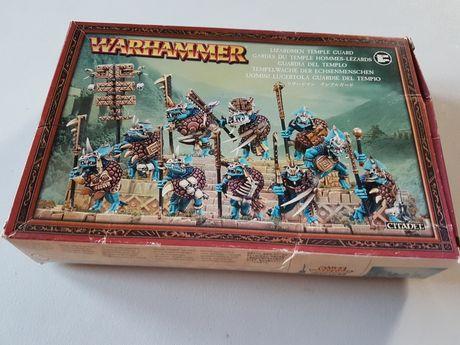 10x Temple Guard Lizardman Warhammer FB