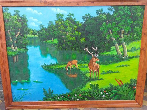Продам картину написана масляними красками