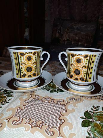 Продаются чашки с блюдцем 0,5 л СССР