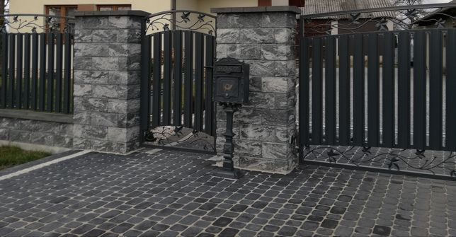 Montaż ogrodzenia betonowe siatka panelowe bloczek nowoczesne