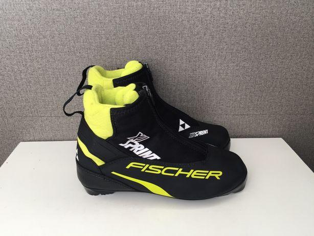 Ботинки для беговых лыж Fischer XJ Sprint Лыжные сапоги оригинал