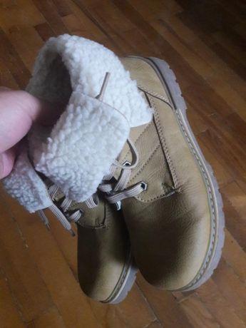 C&a palomino теплые ботинки 32 размер с натуральной овчиной
