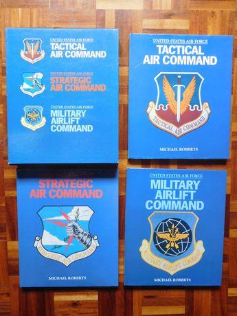 3 Livros - Aviões da Força Aérea - United States Air Force