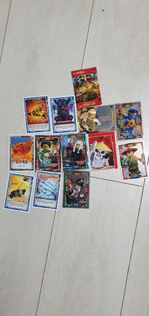 Sprzedam karty lego ninjago trading card game