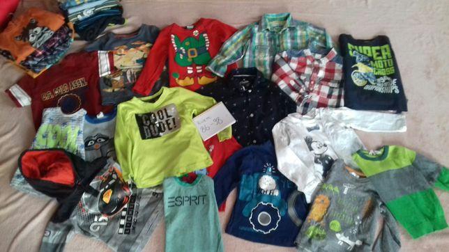 Ubranka dla chłopca 86 do 98
