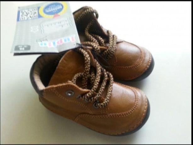 Nowe buty buciki skórzane rozmiar 20. Polecam. Okazja!